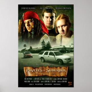 Pirates of Suburbia Part II Poster