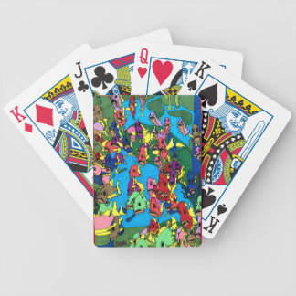 Pirranha Party Bicycle Playing Cards