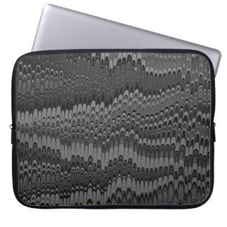 """Pisa bianco e nero"" Laptop Sleeve"