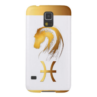 Pisces Horse Chinese and Western Astrology Samsung Galaxy S5 Cases