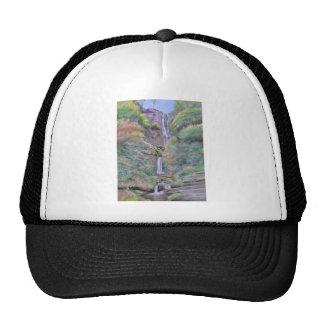 Pistyll Rhaeadr Waterfall Trucker Hat