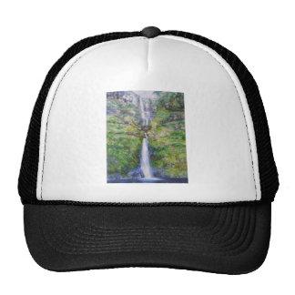 Pistyll Rhaeadr Waterfall Trucker Hats