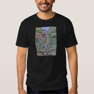 Pistyll Rhaeadr Waterfall T-shirts