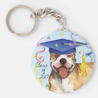 Pit Bull Graduate Key Ring