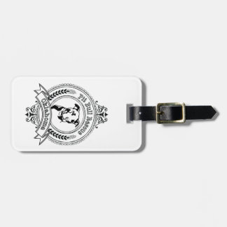 Pit Bull Rescue Luggage Tag