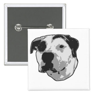 Pit Bull T-Bone 15 Cm Square Badge