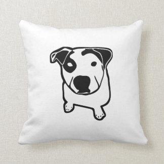 Pit Bull T-Bone Graphic Cushion