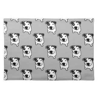 Pit Bull T-Bone Graphic Placemat