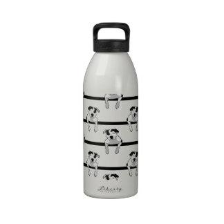 Pit Bull T-Bone Water Bottles