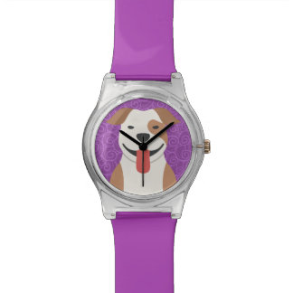 Pit Bull Terrier Customizable Watch