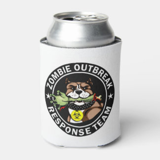 Pit Bull Zombie Outbreak Response Team Can Can Cooler