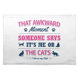 Pitbull Awkward moment Placemat