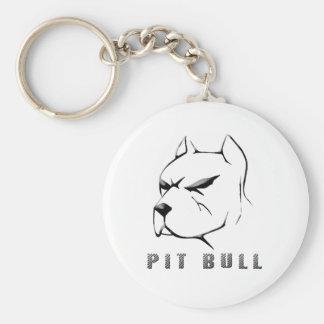 Pitbull draw key ring