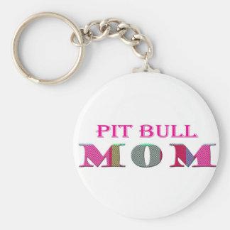 PitBullMom Key Ring