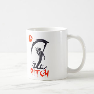 PITCH BLACK BASIC WHITE MUG