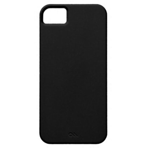 Pitch Black Cover For iPhone 5/5S