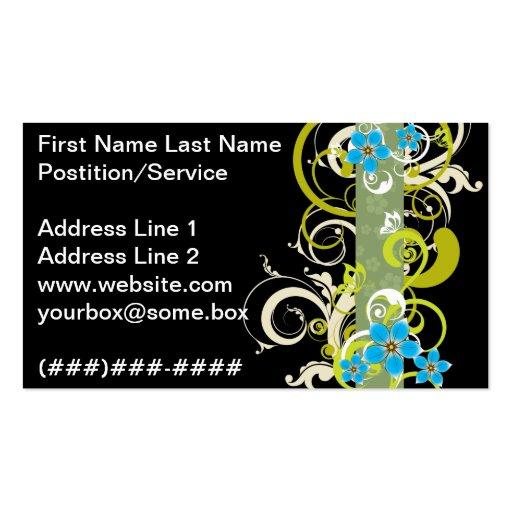 Pitch Black Elegant Business Card
