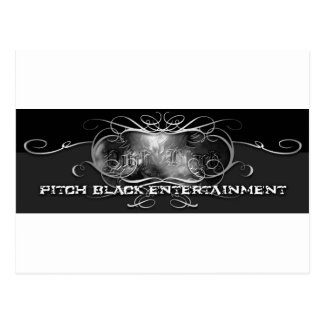 PITCH BLACK ENTERTAINMENT POST CARD