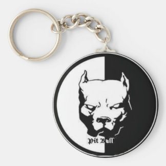 pittbull key ring