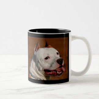 Pittbull Terrier Two-Tone Coffee Mug