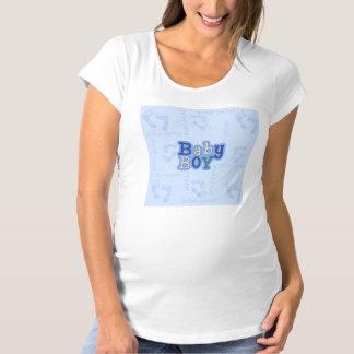Pitter Patter Baby Boy Women's Maternity T-Shirt