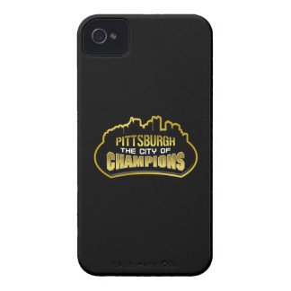 Pittsburgh City of Champs iPhone 4/4S Case-Mate BT