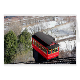 Pittsburgh Incline Plane Card