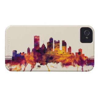 Pittsburgh Pennsylvania Skyline Case-Mate iPhone 4 Case