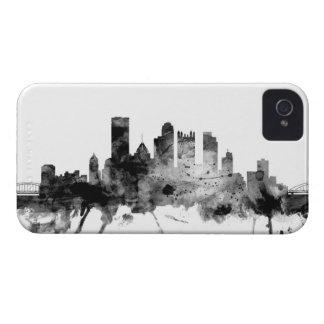 Pittsburgh Pennsylvania Skyline iPhone 4 Case-Mate Cases
