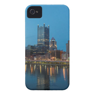 Pittsburgh Skyline at Dusk iPhone 4 Covers