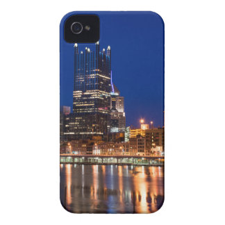 Pittsburgh Skyline at Night iPhone 4 Cover