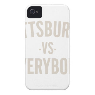 Pittsburgh Vs Everybody iPhone 4 Covers