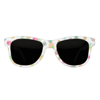 PixDezines Aloha Pineapples/DIY background Sunglasses