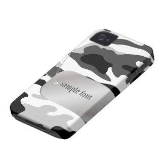 PixDezines Arctic Camo+Dog+Tag iPhone 4 Cover