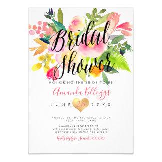 PixDezines Bridal Shower Spring Floral Card