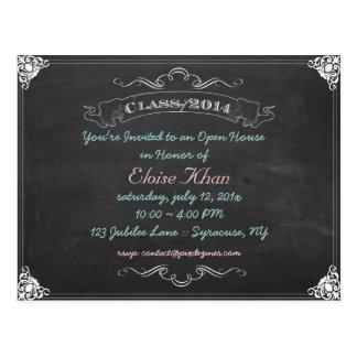 PixDezines chalkboard 2014 graduation/diy Postcard