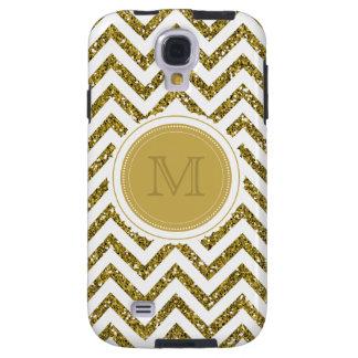 PixDezines chevron/faux glitters Galaxy S4 Case