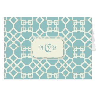 PixDezines ChinoiseTrellis/DIY blue background Card