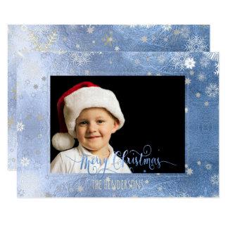 PixDezines Christmas Holiday Photo/Calligraphy Card