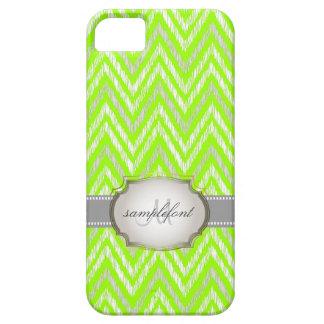 PixDezines diy background color/ikat chevron Barely There iPhone 5 Case
