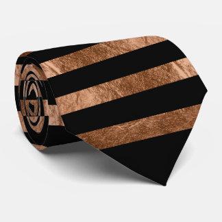 PixDezines diy color/faux copper foil/black Tie