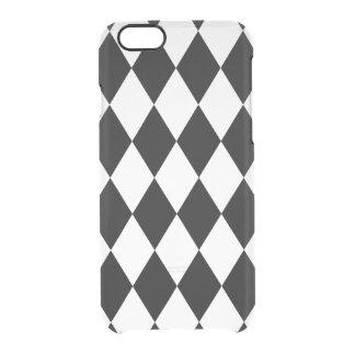 PixDezines diy color/harlequin Clear iPhone 6/6S Case