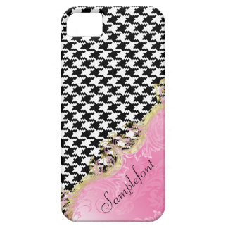 PixDezines DIY color/houndstooth iPhone 5 Cover
