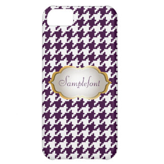 PixDezines DIY color/houndstooth iPhone 5C Case