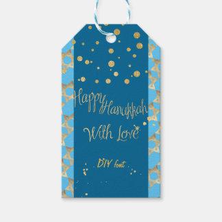 PixDezines Happy Hanukkah/Faux Gold/DIY colors