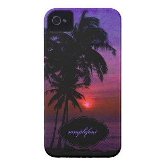 PixDezines hula sunset iPhone 4 Cases