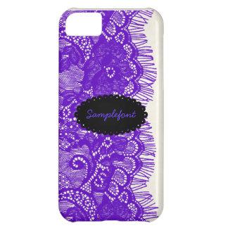 PixDezines lavender lace iPhone 5C Case