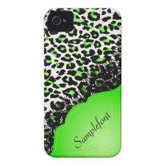PixDezines leopard spots/faux lace iPhone 4 Case