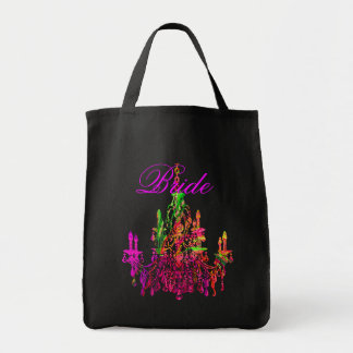 PixDezines Murano Glass Chandelier/Bridesmaid Tote Bag