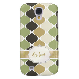 PixDezines ogee pattern Galaxy S4 Case